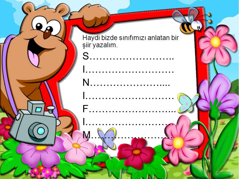 Peki çocuklar sizin de büyüklerinizden duyduğunuz böyle efsane veya türküler var mı? www.egitimcininadresi.com