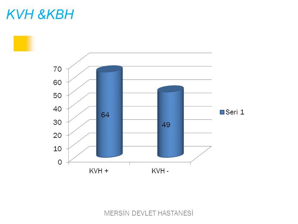 KVH &KBH MERSİN DEVLET HASTANESİ