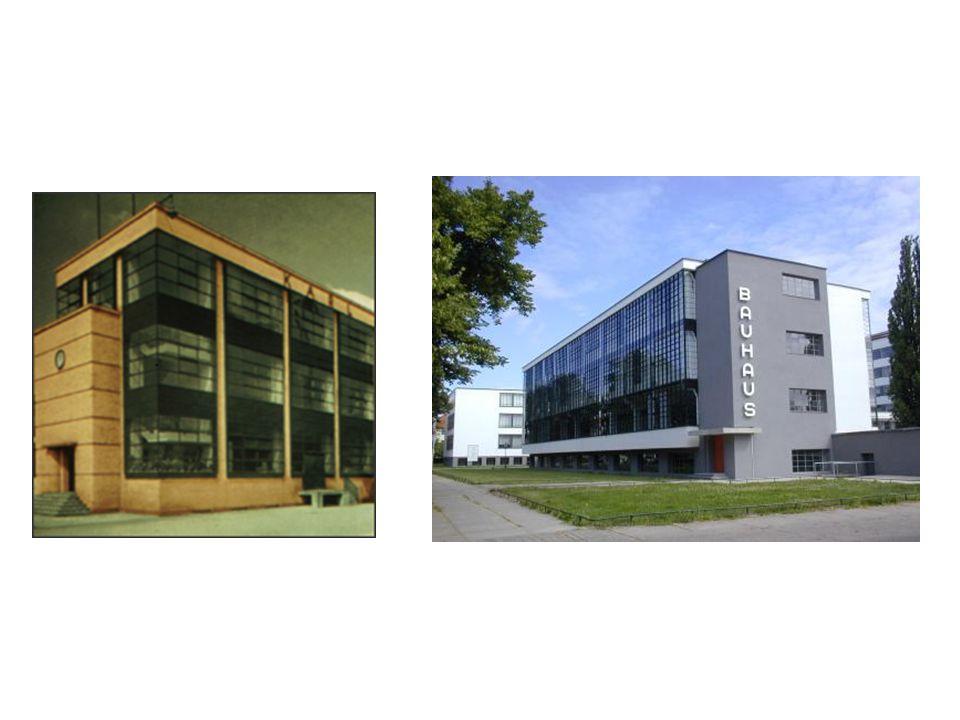 Bauhaus Binasında; •cam yüzeyler strüktürle bölünmüyor.