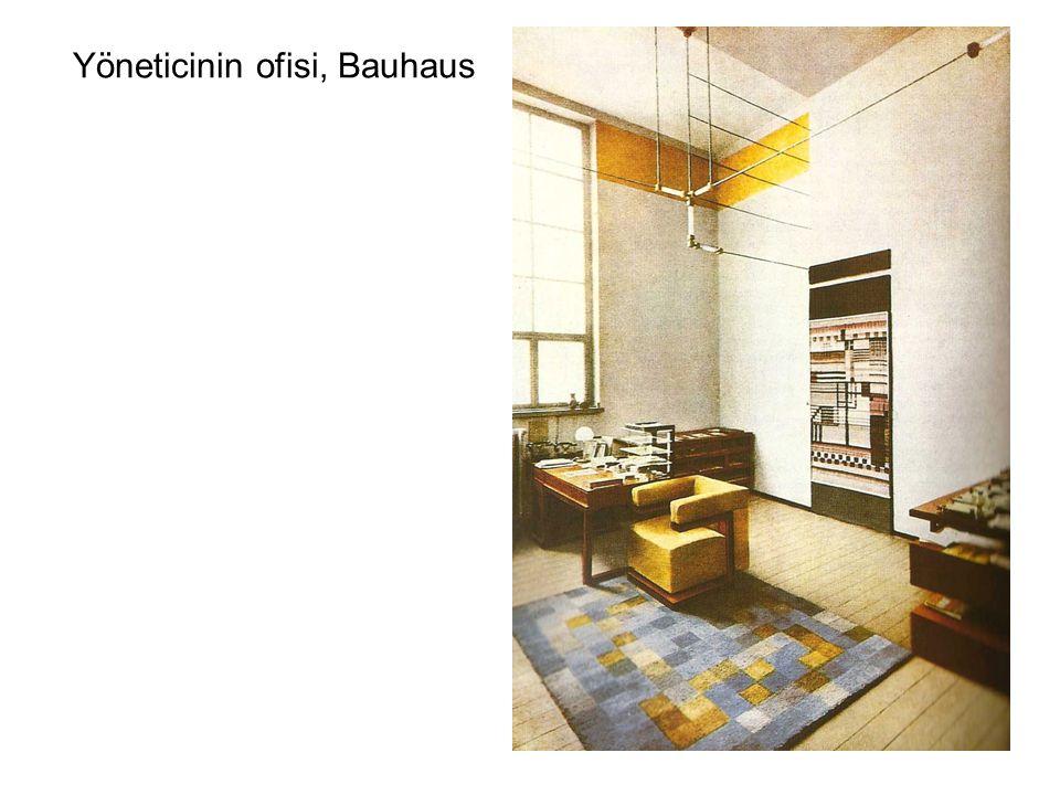 Yöneticinin ofisi, Bauhaus