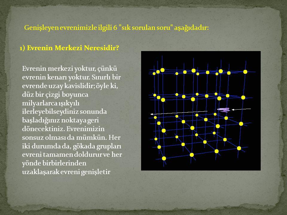 Genişleyen evrenimizle ilgili 6