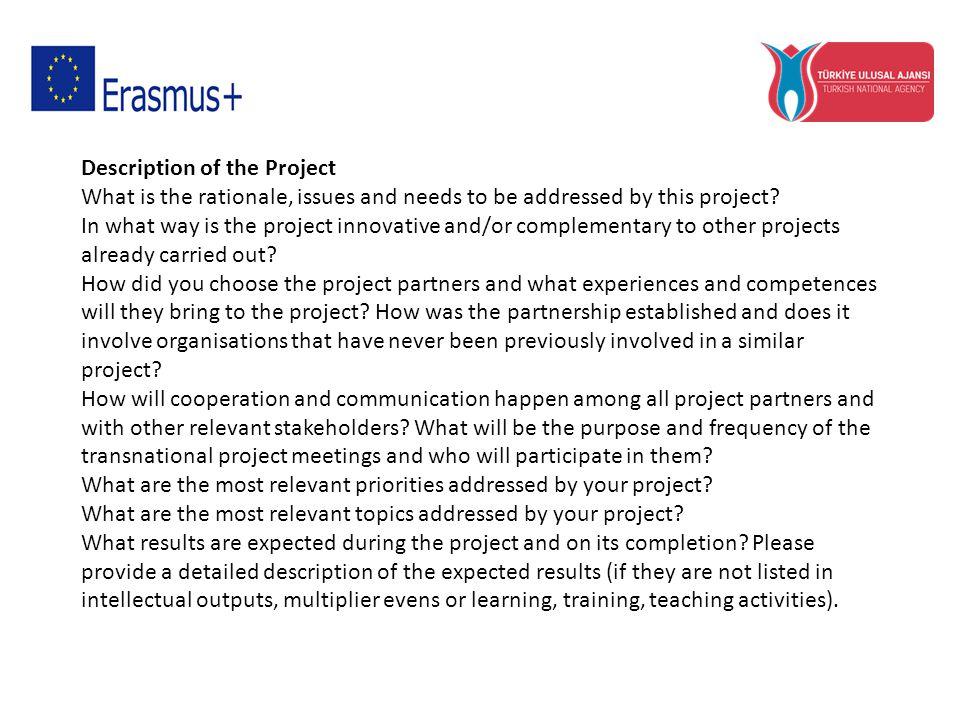 Hazırlık Lütfen proje faaliyetlerin gerçekleştirilmesinden önce kuruluşunuz ve ortaklarınız tarafından hazırlık olarak neler yapılacağını açıklayınız.