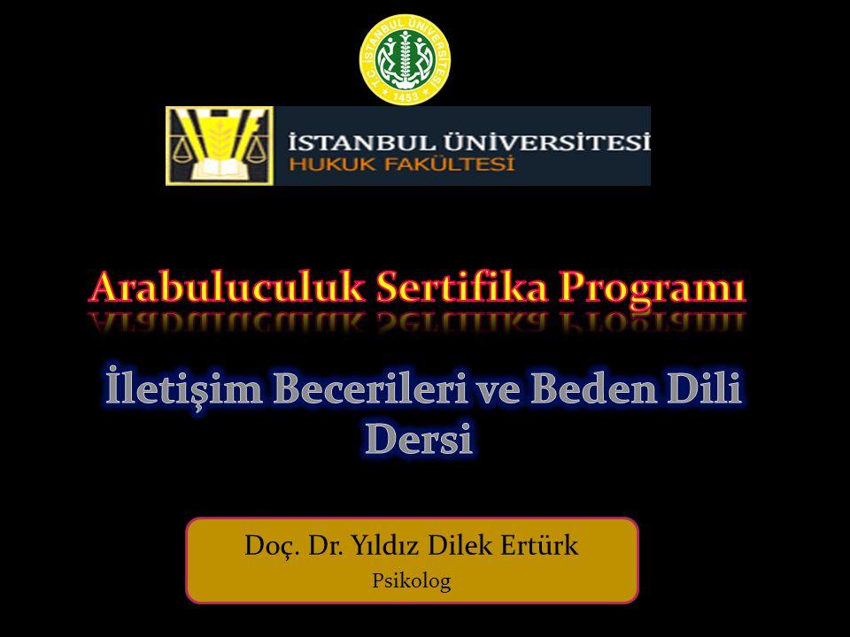 Doç. Dr. Yıldız Dilek Ertürk Psikolog