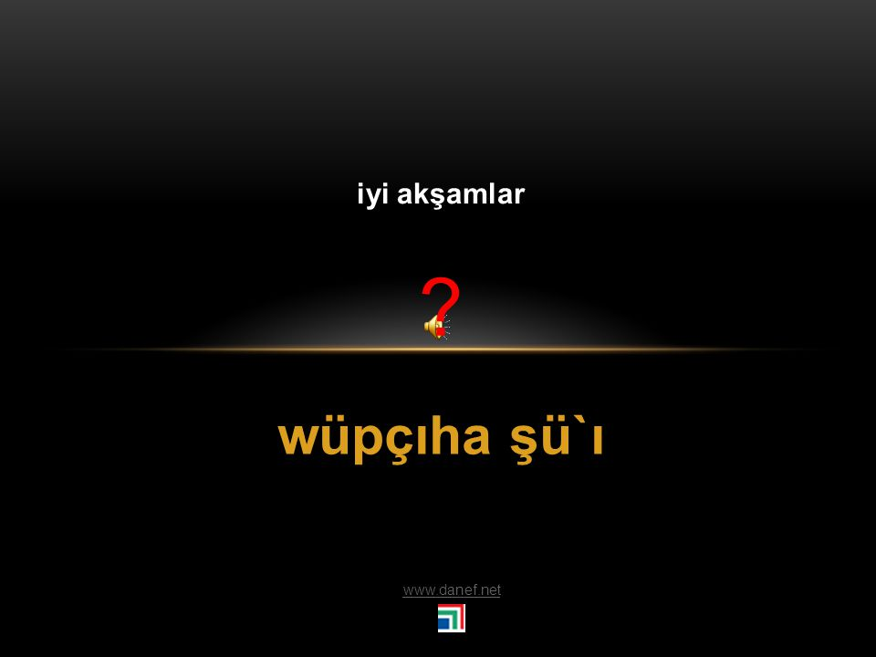 wupsewow wuwuzınçew beğaş`e Tham wöşı` Uzun ömürlü ol