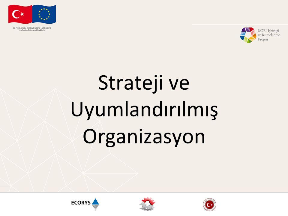 Strateji ve Uyumlandırılmış Organizasyon
