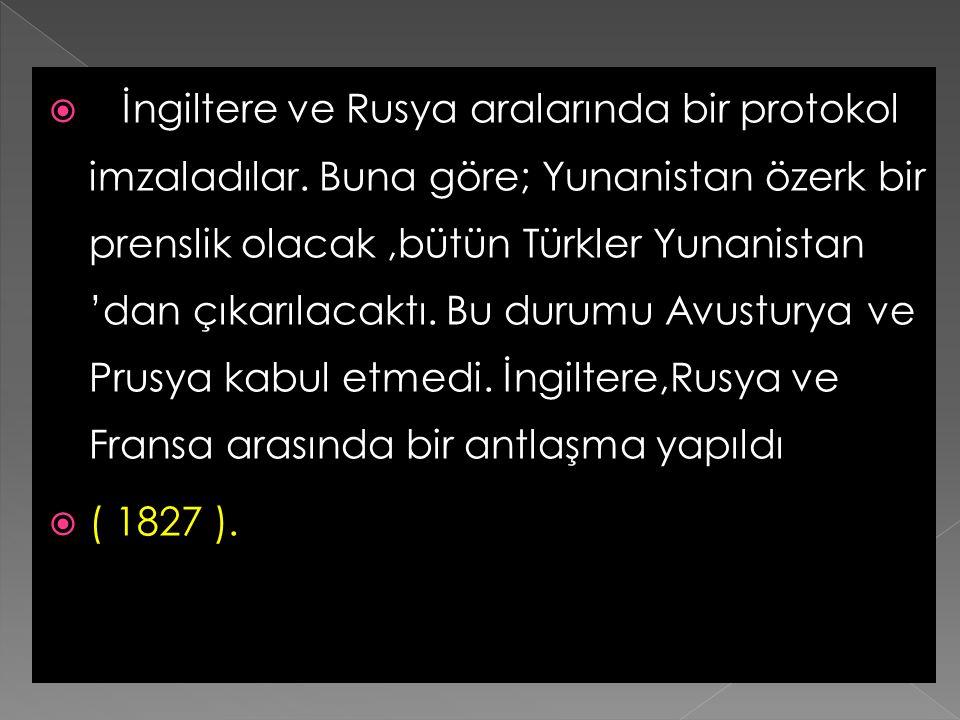   1821'de Mora'da başlayan isyanı Osmanlı Devleti bastıramayınca, Mora valiliğini vermek şartıyla Mısır valisi Kavalalı Mehmet Ali Paşa'dan yardım i