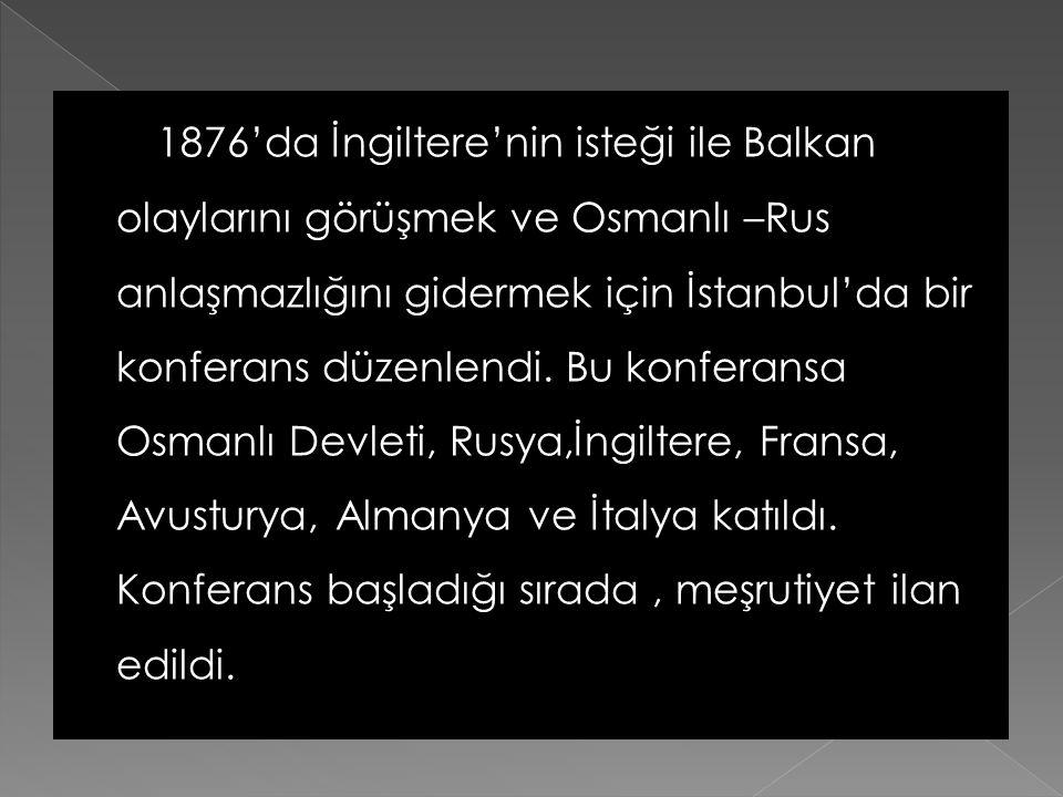  Şark Meselesi XIX. Yüzyılın ilk yarısında Osmanlı toprak bütünlüğünün korunması,ikinci yarısında Avrupa'daki topraklarının paylaşılması, XX. Yüzyıld