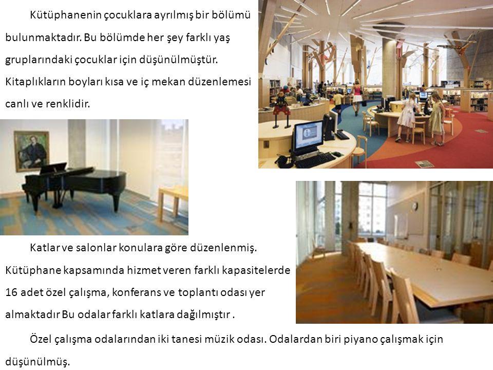 Cottbus Üniversite Kütüphanesi (Brandenburg, Almanya) Kütüphane, amorf şekli ve beyaz cephesi ile dikkat çekici bir yapıdır.