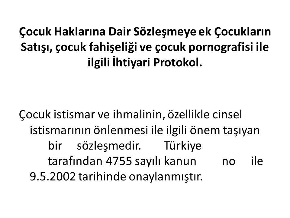 Çocuk istismar ve ihmalinin, özellikle cinsel istismarının önlenmesi ile ilgili önem taşıyan birsözleşmedir.Türkiye tarafından4755sayılıkanunnoile 9.5.2002 tarihinde onaylanmıştır.