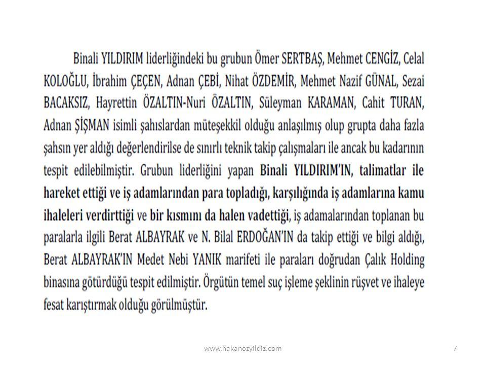 Örnek - Sözcü / 6 Şubat 2014 www.hakanozyildiz.com18 Çalık Grubu'na ait Sabah ve atv'nin satın alınması için oluşturulan 630 milyon dolarlık havuzun, 200 milyon dolarlık kısmının Türkiye Ziraat Bankası'ndan karşılandığı ortaya çıktı.