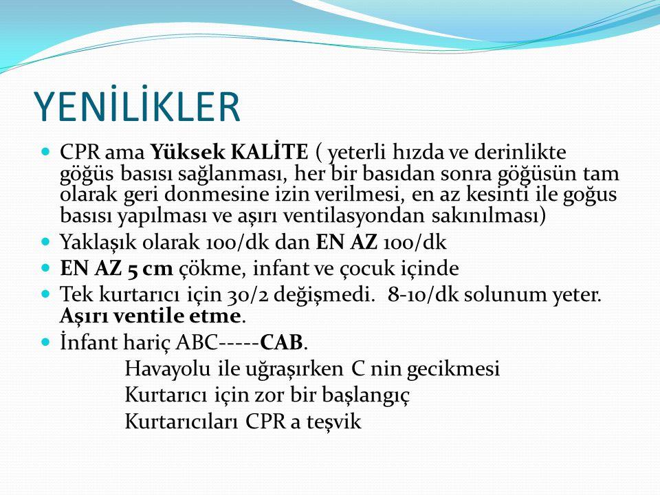 Bradikardi Olumsuz bulgular •SKB<90mmHg •KH<40/dk •Vent.aritmi •KY Yeterli yanıt.