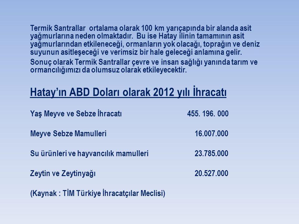 TUİK - Türkiye İstatistik Kurumu verilerine göre Hatay ilinde nüfusun iş gücüne katılım oranı % 45.8 Tarımda çalışanların çalışan nüfusa oranı ise % 2