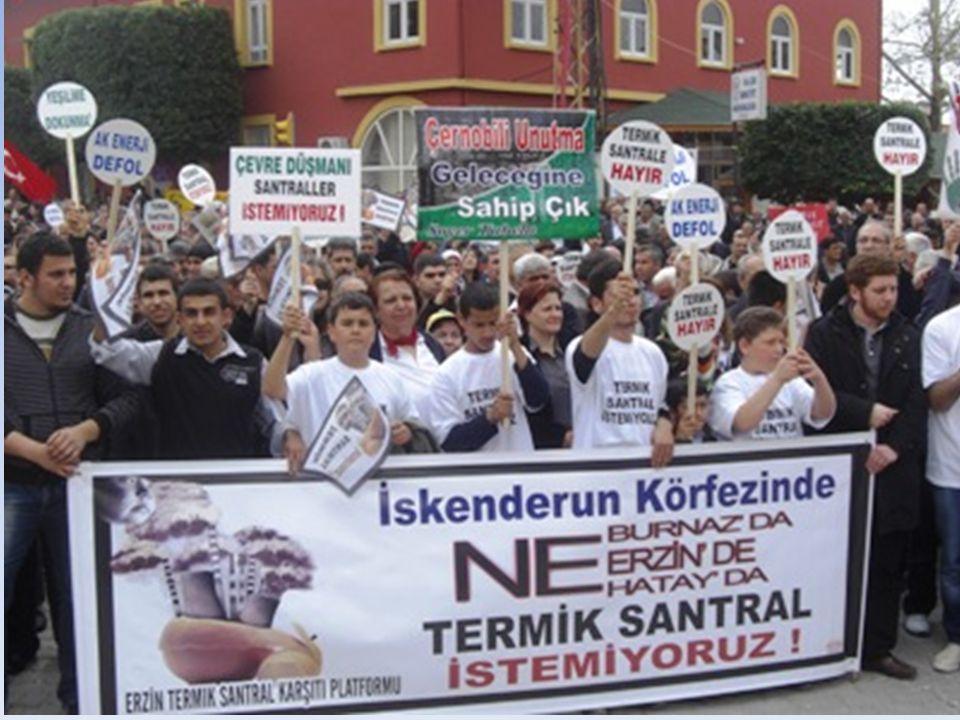 Çevre ve Şehircilik Bakanlığı yetkilileri bugünkü haliyle İskenderun Körfezi'nin Dilovası ve Aliağa'dan sonra Türkiye'nin 3. kirli noktası olduğunu sö