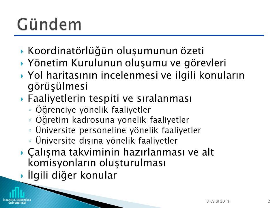 MADDE 13 – (1) Danışma Kurulu Yönetim Kurulunun önerisi ile Rektör tarafından üç yıl için görevlendirilen 1.