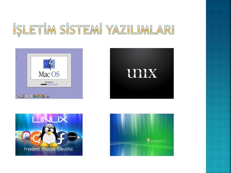  Belirli konulardaki problemlerin çözümüne yönelik olarak programlama dillerinden biri ile yazılmış yazılımlardır.