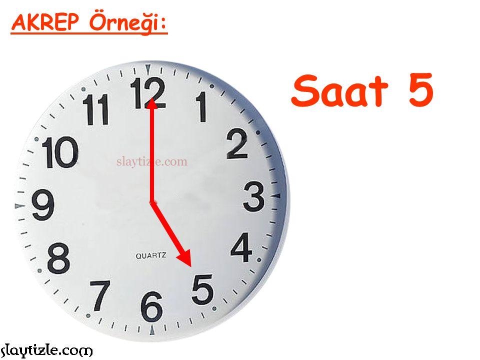 Saat 3 AKREP Örneği:
