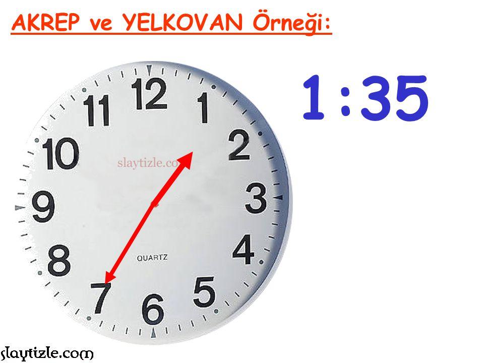 9:25 AKREP ve YELKOVAN Örneği: