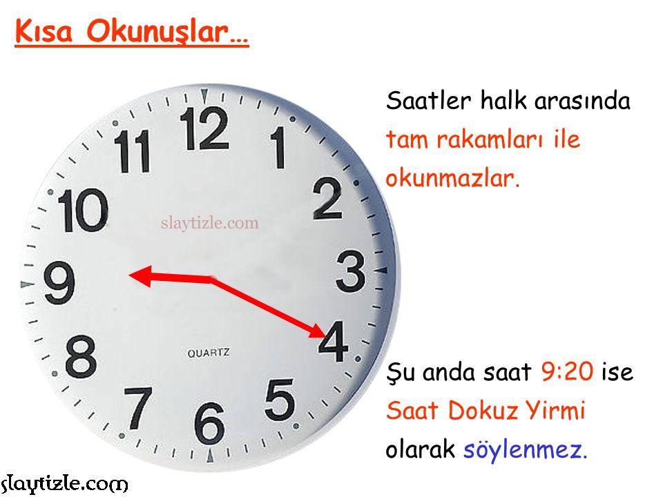 11:00 AKREP ve YELKOVAN Örneği: