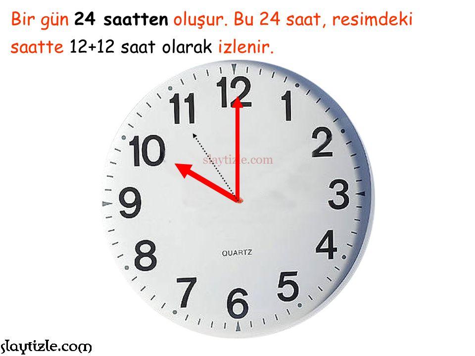 Bu bir saat…