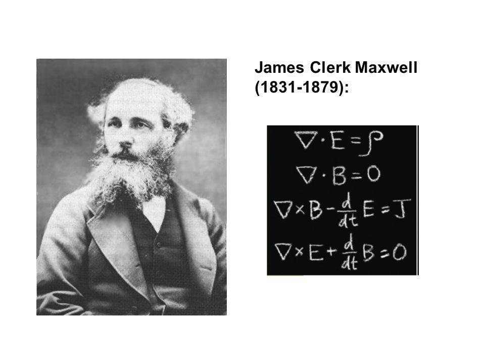 James Clerk Maxwell (1831-1879):
