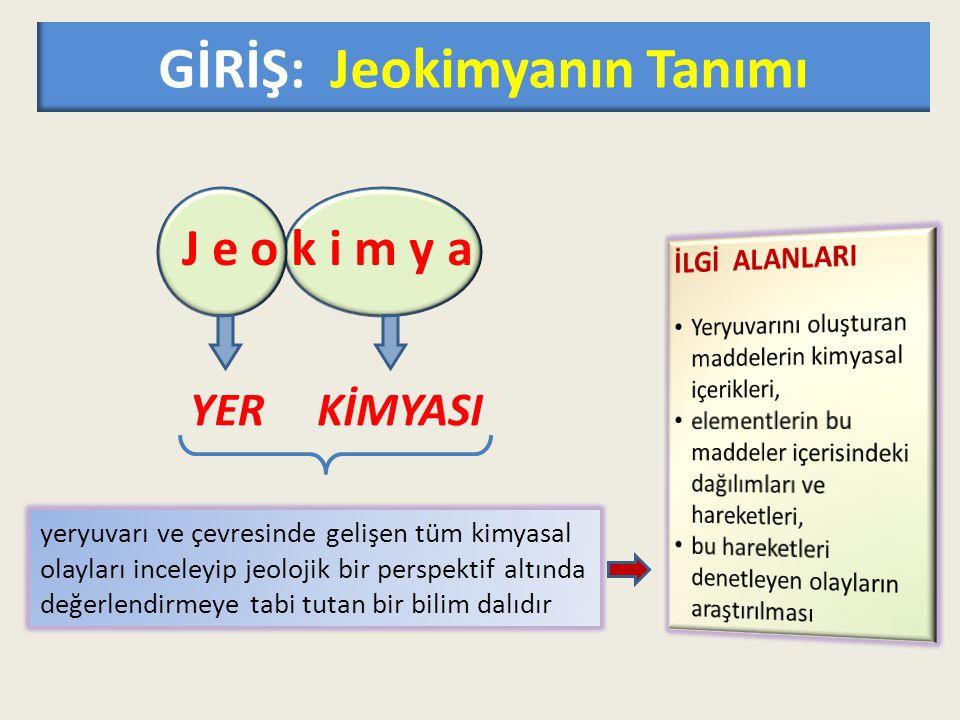 M A D D E GİRİŞ: jeokimyanın tarihçesi  Jeokimya ilk ve orta çağ madencileri tarafından ilkel anlamda kullanılmış olabilir.