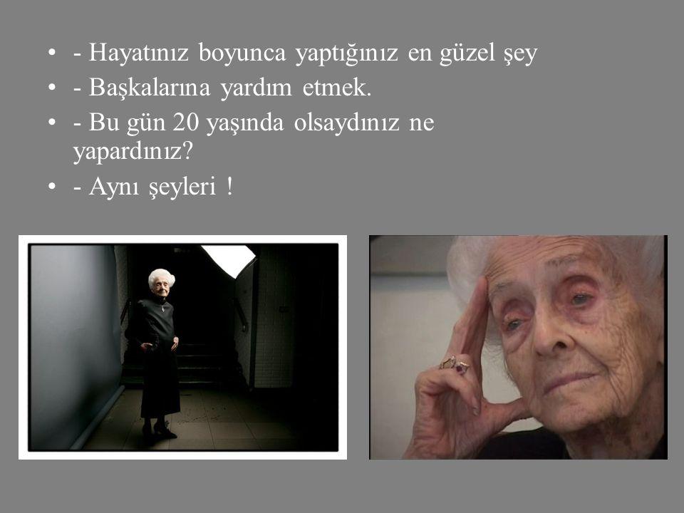 •Bir gün,Alzheimeur'ın, Parkinson' un, yaşlılığa bağlı bunamanın çaresi bulunacak mı? •- İyileştirmek mi…? Tüm bu hastalıkları durdurmayı, geciktirmey