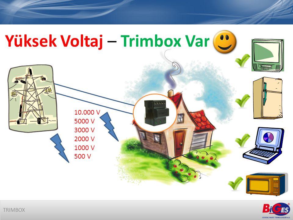 10.000 V 5000 V 3000 V 2000 V 1000 V 500 V TRIMBOX Yüksek Voltaj – Trimbox Var