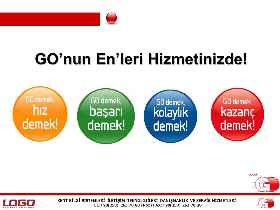 KENT BİLGİ SİSTEMLERİ İLETİŞİM TEKNOLOJİLERİ DANIŞMANLIK VE SERVİS HİZMETLERİ TEL:+90(258) 263 70 80 (Pbx) FAX:+90(258) 263 78 28 GO Paketler GO Basic GO Pro GO Power GO Shop Manager GO Bordro