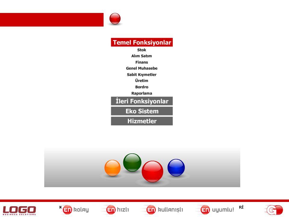 KENT BİLGİ SİSTEMLERİ İLETİŞİM TEKNOLOJİLERİ DANIŞMANLIK VE SERVİS HİZMETLERİ TEL:+90(258) 263 70 80 (Pbx) FAX:+90(258) 263 78 28 Fonksiyonlar •Anlık verilerin MS Excel'den takibi •GO kullanımı bilinmeden GO'daki verilere erişim Raporlama / Navigator GO'ya girmeden raporlarımı MS Excel üzerinden güncelleyebilir miyim.