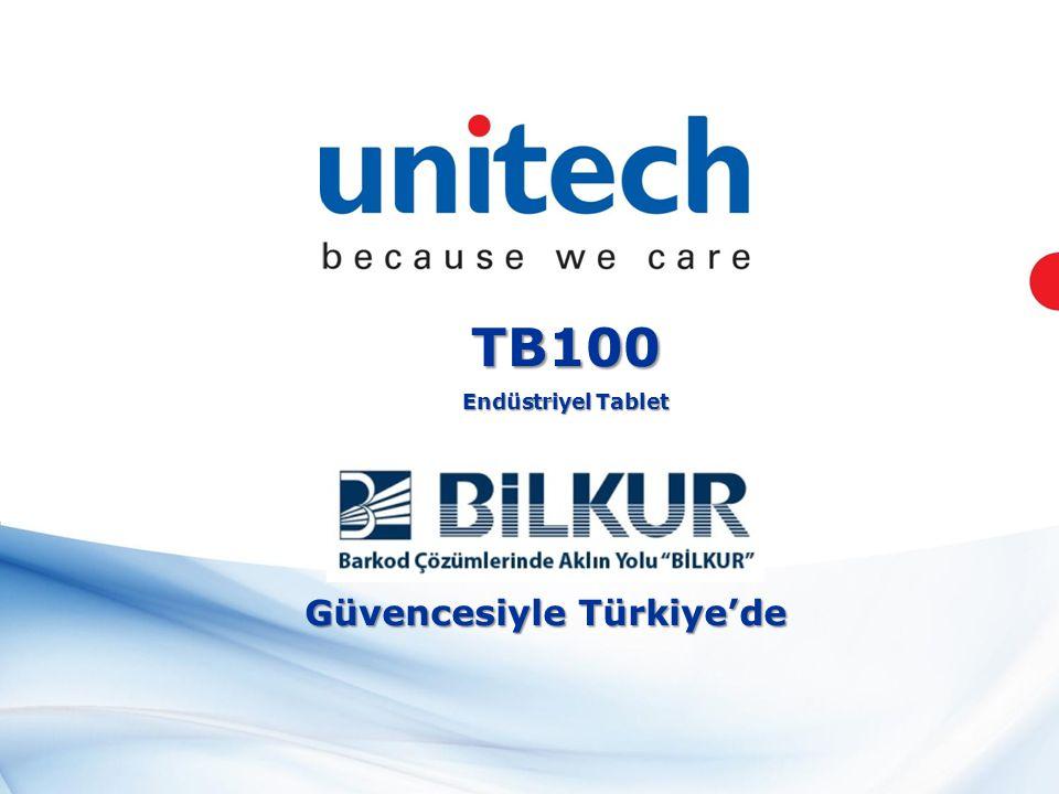 TB100 Endüstriyel Tablet Güvencesiyle Türkiye'de
