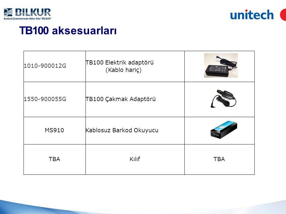 TB100 aksesuarları (Kablo hariç) 1010-900012G TB100 Elektrik adaptörü 1550-900055GTB100 Çakmak Adaptörü MS910Kablosuz Barkod Okuyucu TBAKılıfTBA