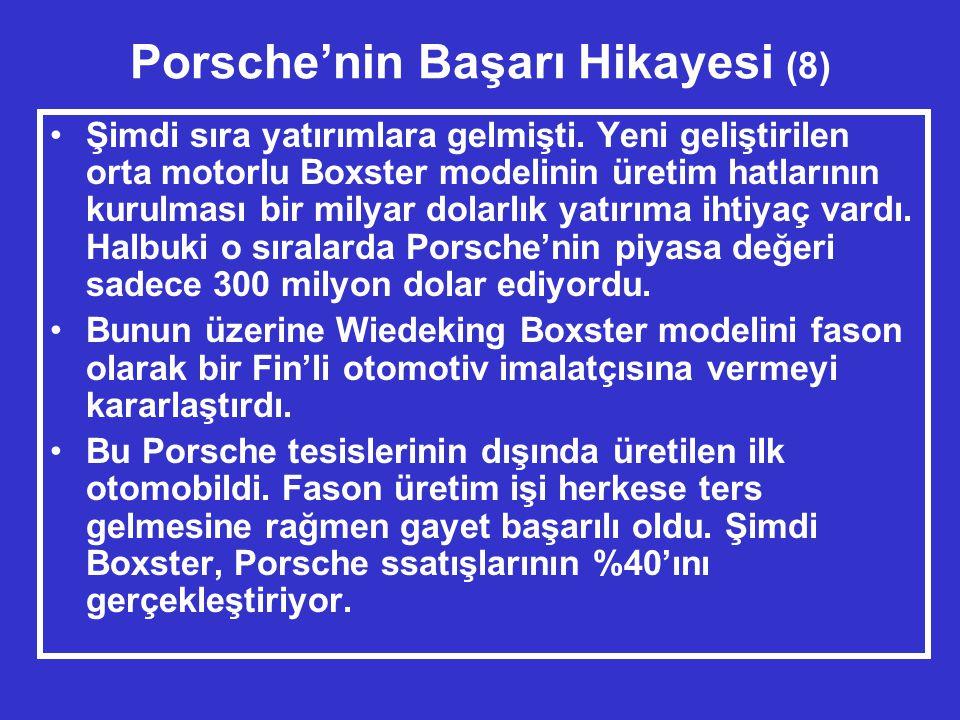 Porsche'nin Başarı Hikayesi (8) •Şimdi sıra yatırımlara gelmişti.