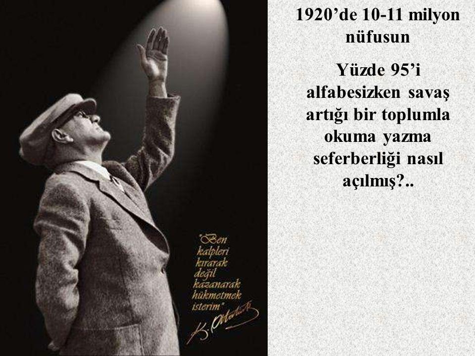 Mustafa Kemal kuşağı ne yapmış?..Yöneticiler devletçiliğe neden ve nasıl sarılmış?..