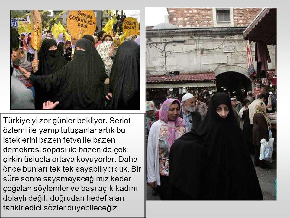 Türkiye artık çelişkiler ülkesi. Yüzyılın dengelerinin yeniden kuruluşunda terminal ülke olan Türkiye üzerinde oynanan oyunlarda ılımlı etiketiyle yum