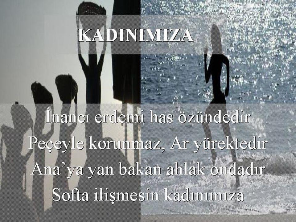 Atatürk, Atatürk diyeceğinize, Atatürk'ten biraz ilham alın!... Prof.Dr.Tülay ÖZÜERMAN