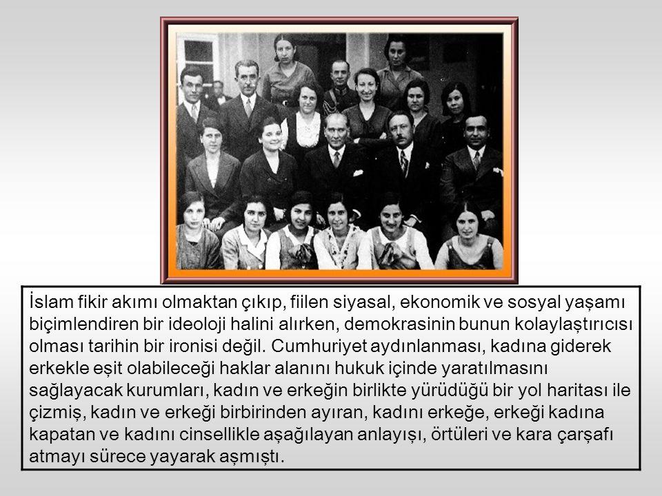 AKP'yi ilerleten halkın giderek yoksullaşması ve daha küçücük bebelerin din motifleriyle sarılıp sarmalanması, orta dereceli okullardaki çocuklarımızı