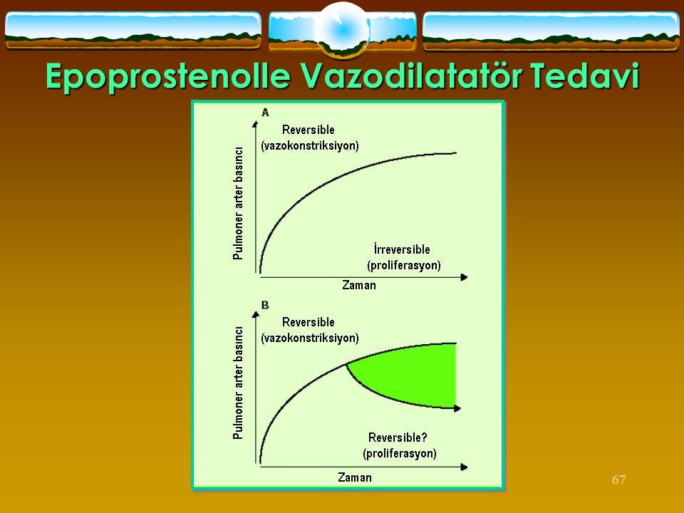 67 Epoprostenolle Vazodilatatör Tedavi
