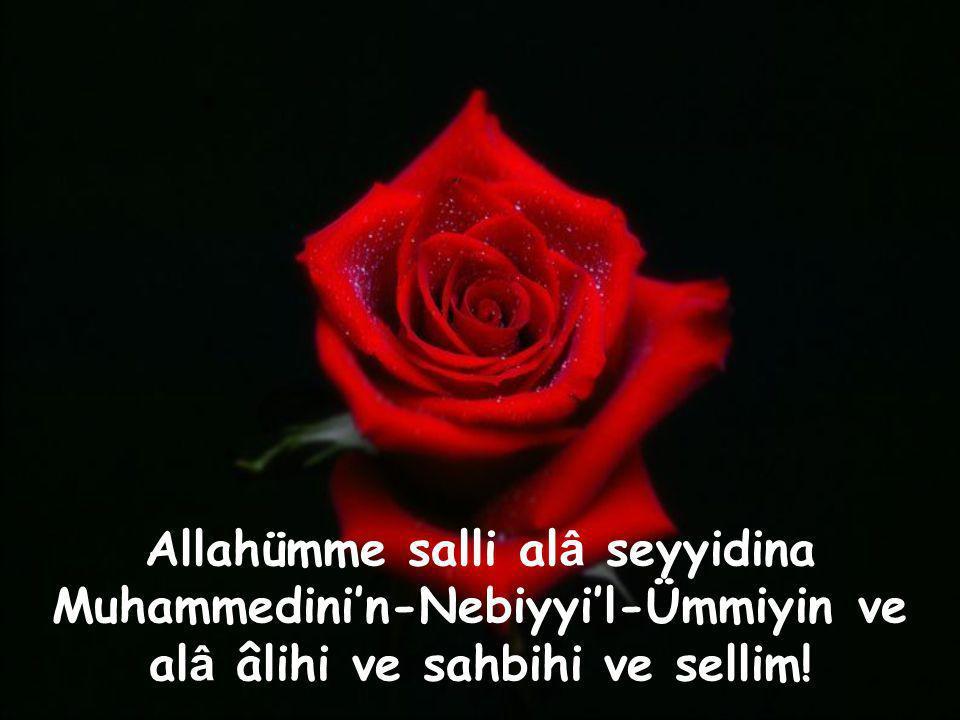 """Yüreklerimizde vaz geçilmez bir yerin var Ya Rasulallah!. """" Rabbim """" Rabbim cümlemizi salavâtın özüne ulaşıp, Peygamber ahlâkıyla ahlaklanmayı, O'nun"""