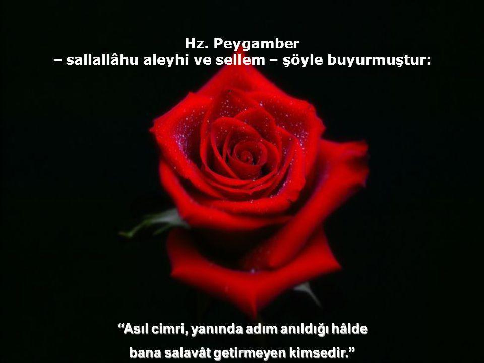 """İbn Mes'ud (r.a)'dan gelen bir rivâyette Rasûlullah -sallallâhu aleyhi ve sellem- şöyle buyurmuştur: """"Kıyamet gününde insanların bana en yakın olanlar"""