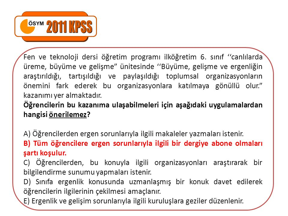 Fen ve teknoloji dersi öğretim programı ilköğretim 6.
