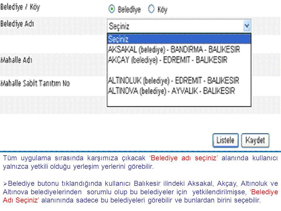 Kayıtlara Ankara Kazan belediyesi Pınar sokağı nasıl ekleyebilirim.