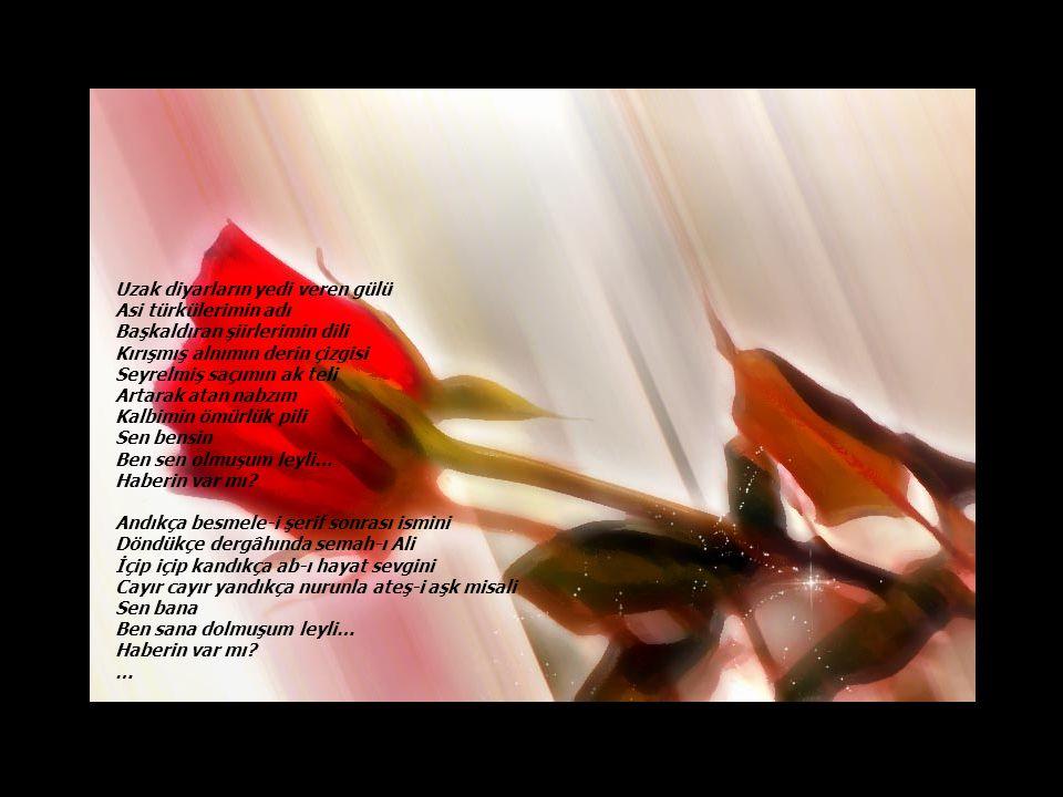Ağzı açık bir alamet bu Sorma gitsin… Daha da üsteleme sorgu sual Eşeleme yaralarımı kazma kürek… Ağrıyan dişi düşman çekmez Yaralı parmağa su dökmez kahpe felek Taş taş üstüne bırakmayan kıyamet bu Elleme yetsin… Ağır gürzünü sırtımıza geçirse de hayat Dişimize taktığımız canımızı acıtmaz Yıkılmak yok İnadına yaşayacağız Açlığın basıncıyla Karnımızı patlatsa da kıt kanaat geçim İliğimizde kurumuş kanımızı akıtmaz Yenilmek asla ve kat'a Savaşıp kazanacağız …