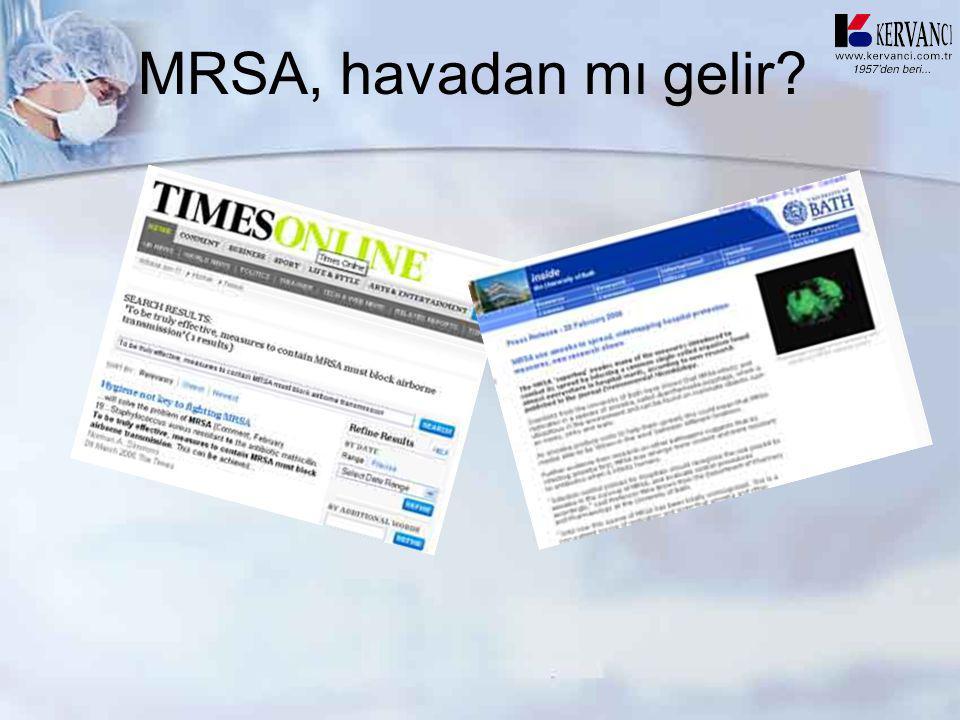 MRSA, havadan mı gelir?