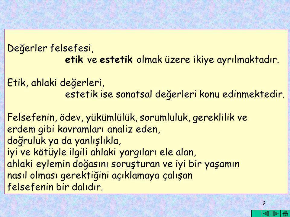 40 DEĞERLENDİRME NASIL OLMALIDIR.