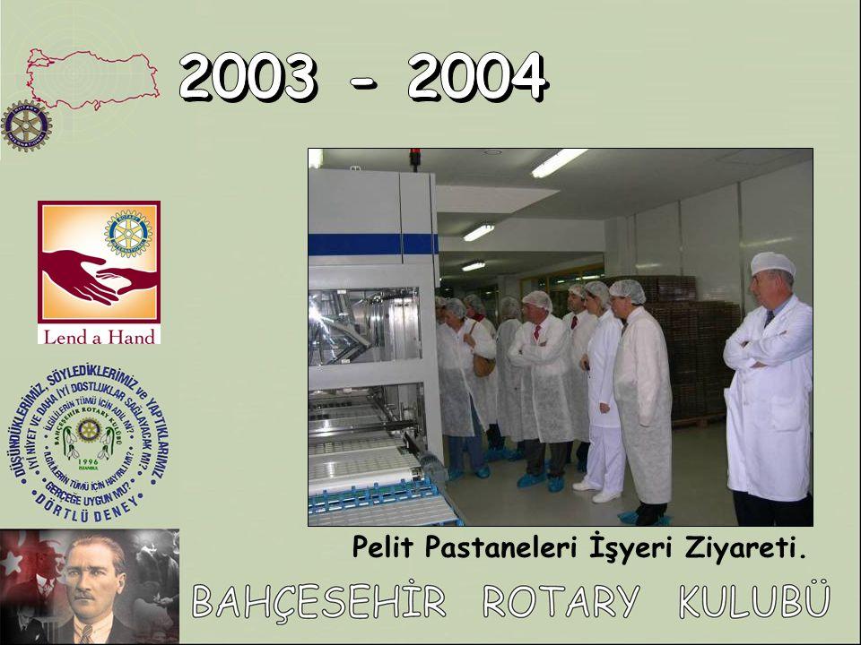 Pelit Pastaneleri İşyeri Ziyareti.