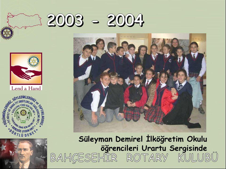Süleyman Demirel İlköğretim Okulu öğrencileri Urartu Sergisinde
