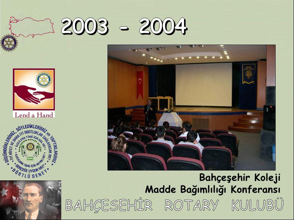 Bahçeşehir Koleji Madde Bağımlılığı Konferansı