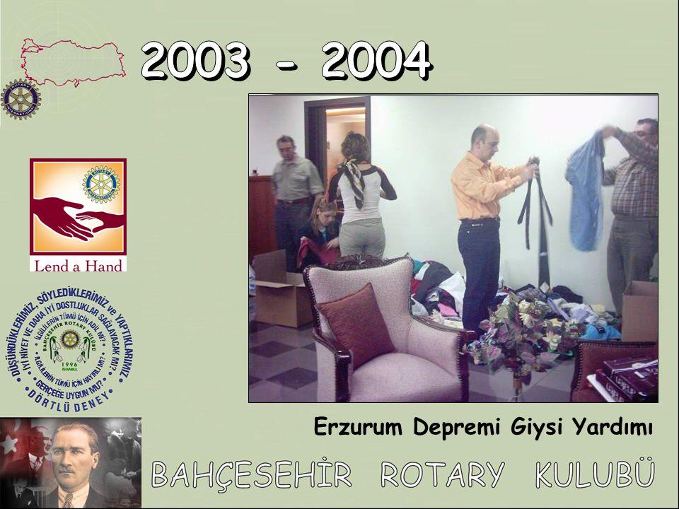 Erzurum Depremi Giysi Yardımı