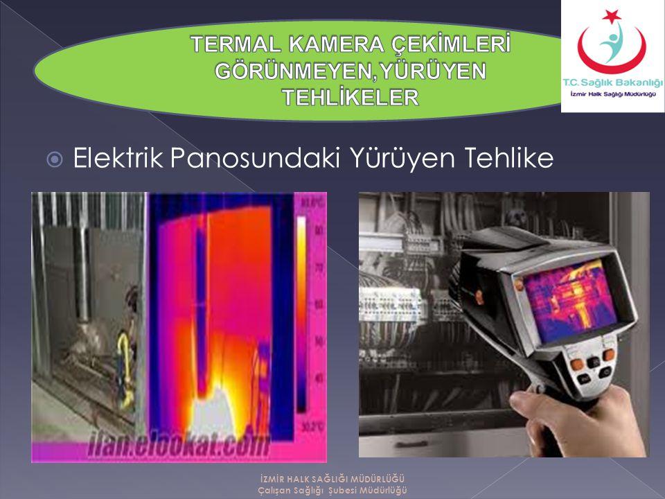  Elektrik Panosundaki Yürüyen Tehlike İZMİR HALK SAĞLIĞI MÜDÜRLÜĞÜ Çalışan Sağlığı Şubesi Müdürlüğü