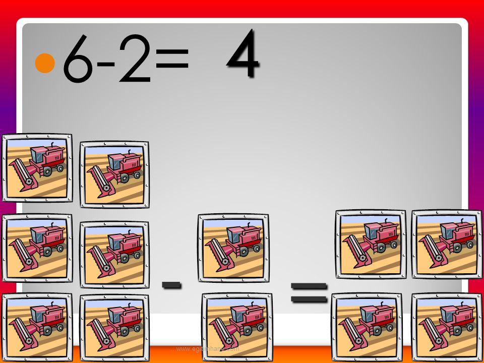  6-3= - = 3...www.egitimhane.com...